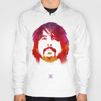 dave grohl Hoodies featuring D. Grohl by Fimbis
