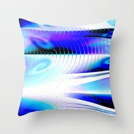 Flow or Crash Throw Pillow