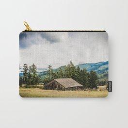 Hay Barn, Valley Near Blyn, Washington Carry-All Pouch
