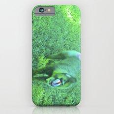 Monkey red nose, between green. Slim Case iPhone 6s
