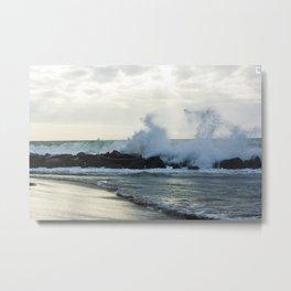 Fiumicino beach Metal Print