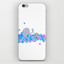 Friends In The Forget-me-nots iPhone Skin