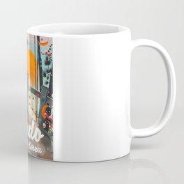 Jindo South korea travel poster. Coffee Mug