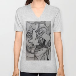 Below the Surface - Madness Unisex V-Neck