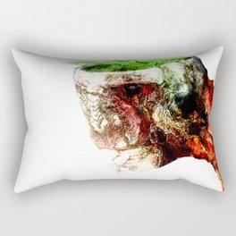 Open Skull Rectangular Pillow
