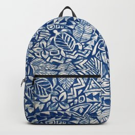 Hawaiian tribal pattern Backpack