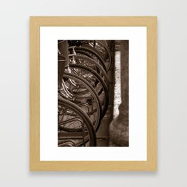 Bycicles Framed Art Print
