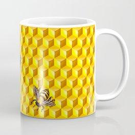 Bee Gold Coffee Mug