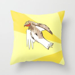 I am the hero this city needs Throw Pillow