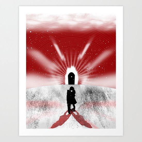 Is Love Forever? Art Print