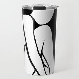 matte nude 2 Travel Mug