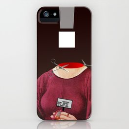 the truth is dead · ! iPhone Case
