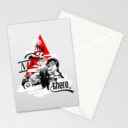 The man who wasn't there Stationery Cards