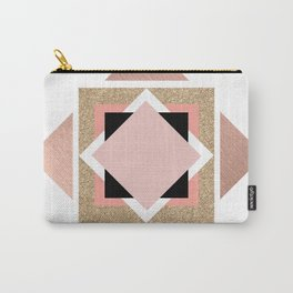 Carré rose Carry-All Pouch