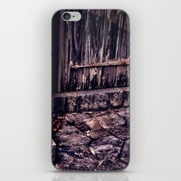 Wood and Stone iPhone Skin