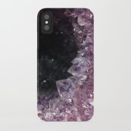 Geode Cave iPhone Case