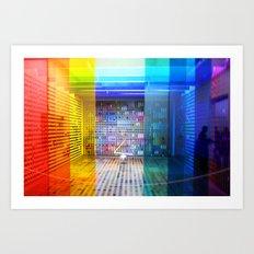 Rainbow Room Art Print