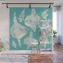 Mola mola Wall Mural