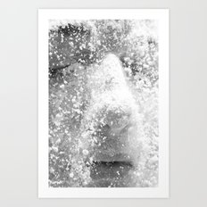 Flour girl Art Print