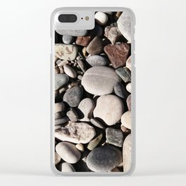 Stones #2 Clear iPhone Case