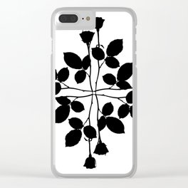 Red Cross Clear iPhone Case