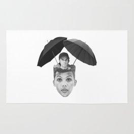 La pluie Rug