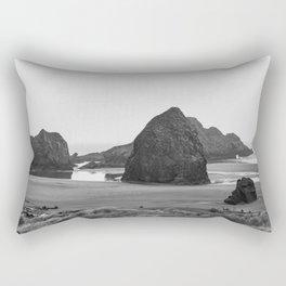 Pacific Ocean Fog Rectangular Pillow