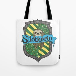 Slotherin Tote Bag