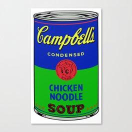 Campbell's scootaloo noodle soup 3 Canvas Print