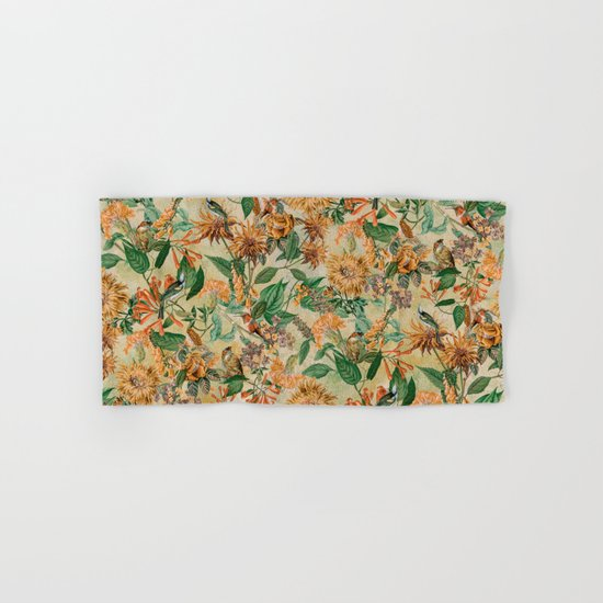 Botanical Garden Hand & Bath Towel