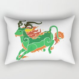 Qilin Rectangular Pillow