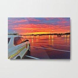 Sunset after a Storm  Metal Print