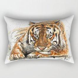 Tiger watercolor Rectangular Pillow