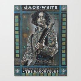 Jack White Canvas Print