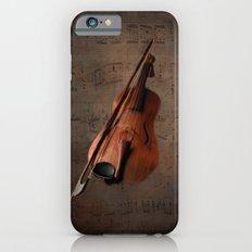 Painting Vintage Violin Slim Case iPhone 6s