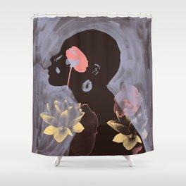Lotus Dreamer 3 Shower Curtain