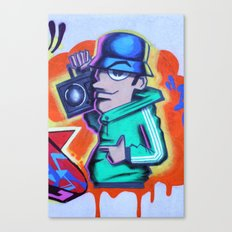 80s B-Boy Canvas Print