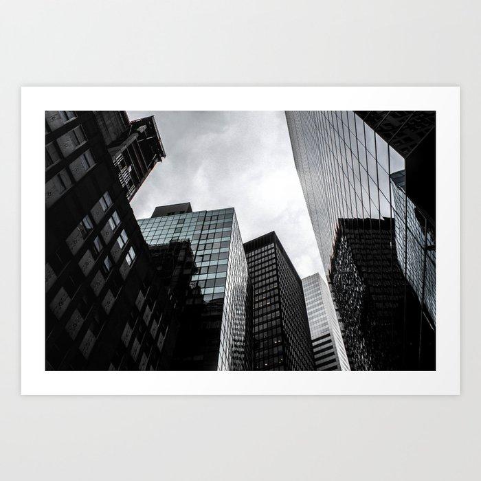 ArtWork New York City USA Black Art Photo Art Print