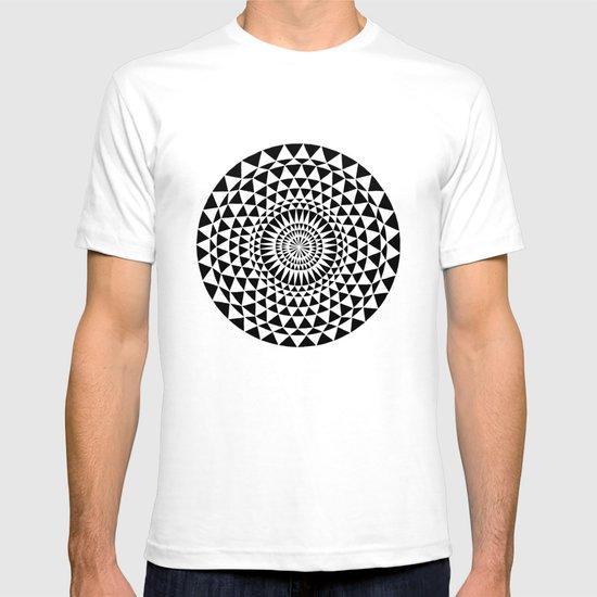 Sun in B&W T-shirt