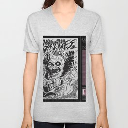 grimes - visions cover art - Unisex V-Neck