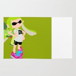 Inkling Girl (Green) - Splatoon Rug