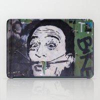 salvador dali iPad Cases featuring Salvador Dali by Victoria Herrera