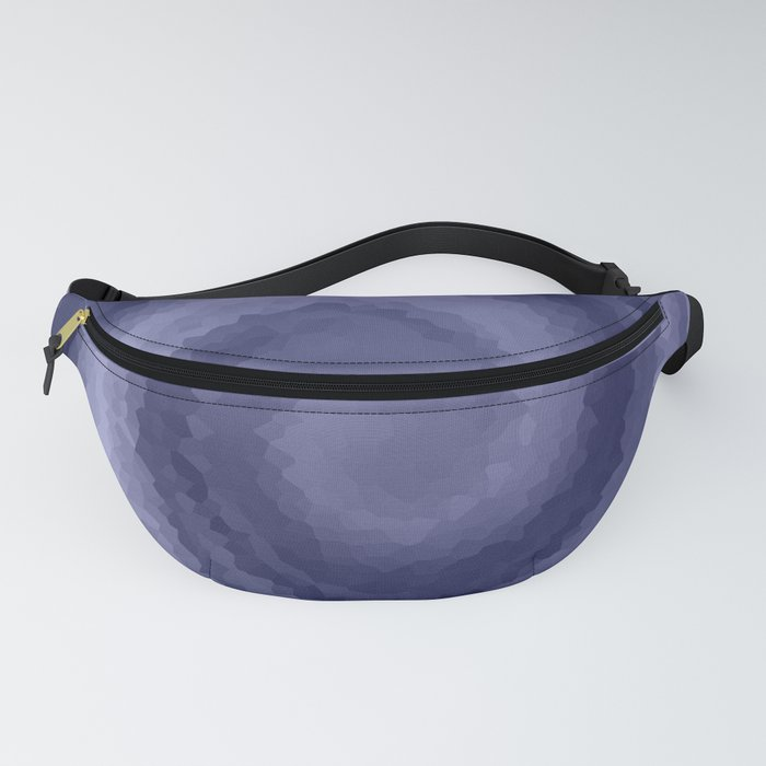 Blue wave, abstract Fanny Pack