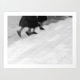 Nuns Art Print