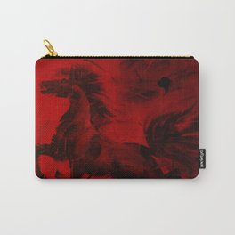 HORSE - RED Carry-All Pouch