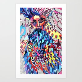 Black Jesus Art Print