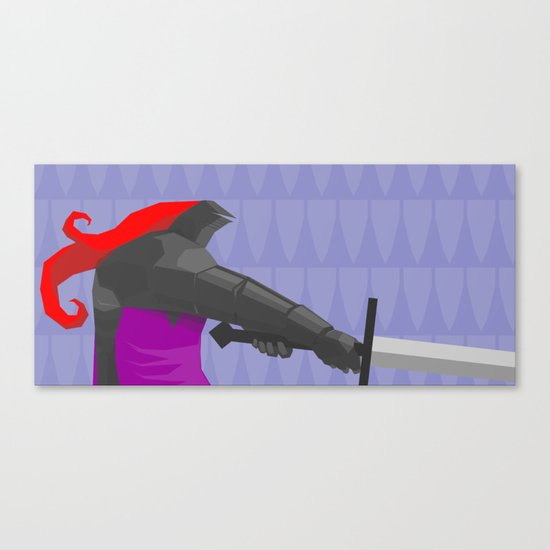 The Black Guard  Canvas Print