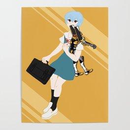 00 Rei Ayanami Poster