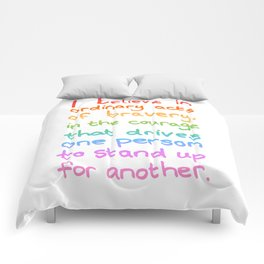 Ordinary Acts of Bravery - Divergent Quote Comforters