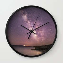 A Million Stars Wall Clock
